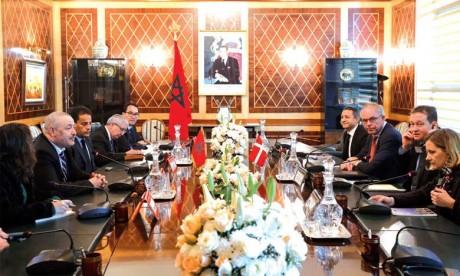 Un responsable danois souligne le rôle important  du Maroc en matière de développement et de maintien  de la paix et de la stabilité au niveau régional