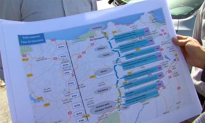 La voie express Taza-Al-Hoceima prête en 2019