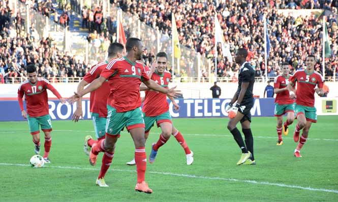 Le Maroc en demi-finale du CHAN pour la première fois de son histoire