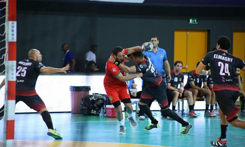 Le sept national défait par le tenant du titre égyptien malgré une belle prestation