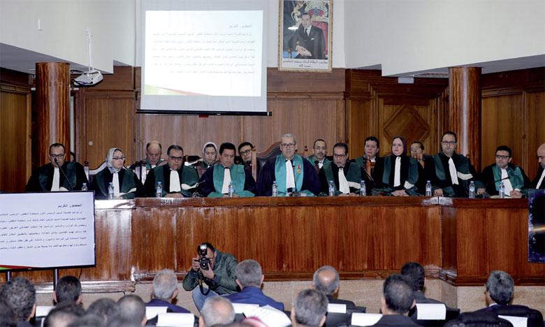 Plus de 100 affaires devant les Chambres criminelles près la Cour d'appel  de Rabat en 2017
