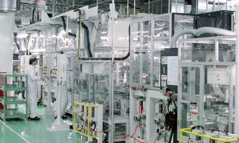 La production industrielle devrait augmenter de 9% en février et baisser de 2,7% en mars,  selon des industriels japonais.Ph. Reuters