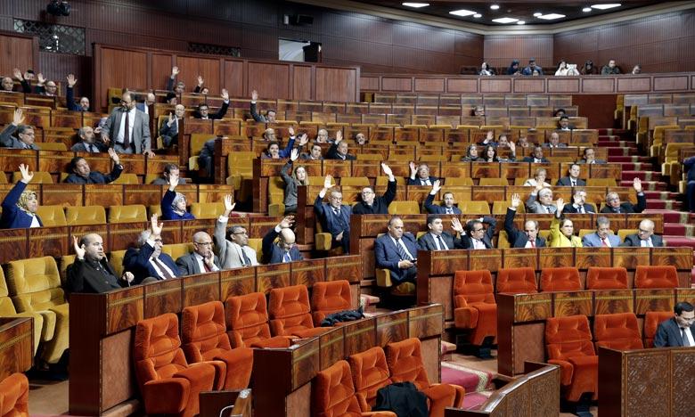 Le projet de loi n° 103.13  adopté à la Chambre des représentants