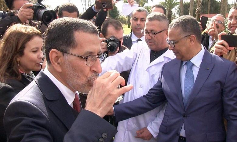 Saâd Eddine El Othmani : « Vous êtes entre de bonnes mains en ce qui concerne l'eau potable». Ph. DR
