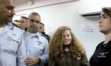 Le procès de Ahed Tamimi, l'adolescente devenue une icône palestinienne, s'ouvre à huis clos