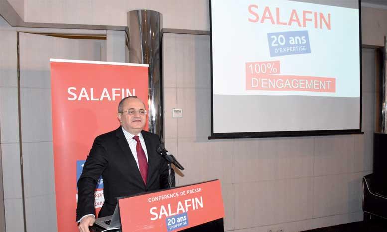 Salafin prête pour l'Afrique