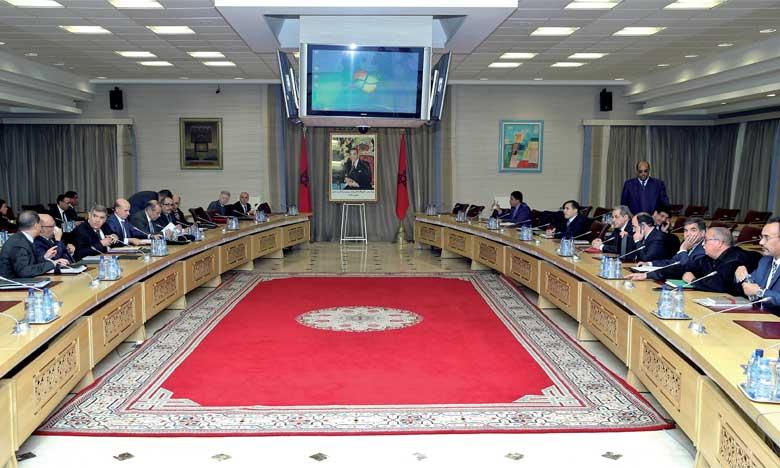 Réunion élargie au ministère de l'Intérieur  pour faire le bilan de la mise en œuvre  du chantier de la régionalisation avancée