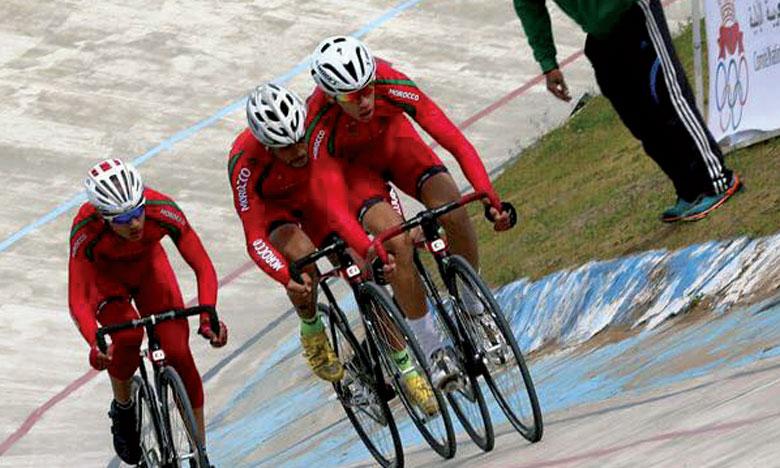 les coureurs marocains sont parvenus à glaner 18 breloques, dont 3 en or, 7 en argent et 8 en bronze.