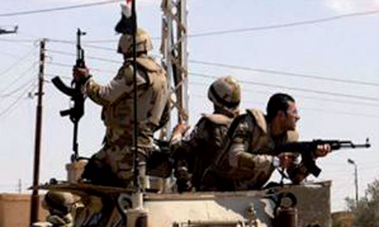 16 terroristes tués au Sinaï