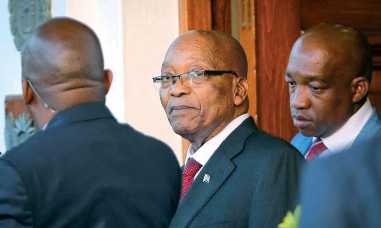 L'ANC pousse le Président Jacob Zuma vers la sortie