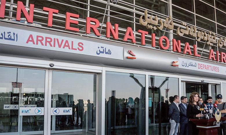 Le blocus aérien des aéroports d'Erbil et Souleimaniyeh prolongé de 3 mois