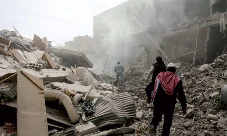 L'annonce de ce sommet intervient alors que la Syrie connaît depuis plusieurs semaines un regain de violences sur le terrain.                                                                                                                                                      Ph. AFP