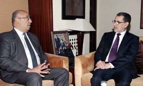 Saâd Eddine El Othmani et le représentant de l'Unesco auprès du Maroc, de l'Algérie et de la Mauritanie explorent les moyens de renforcer la coopération entre le Royaume  et l'instance onusienne