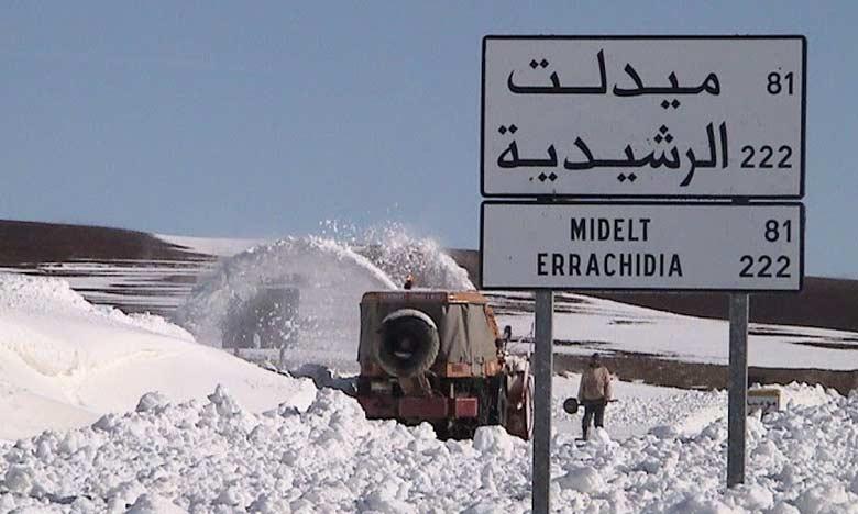 Branle-bas de combat face à la vague de froid qui sévit dans les localités et les douars