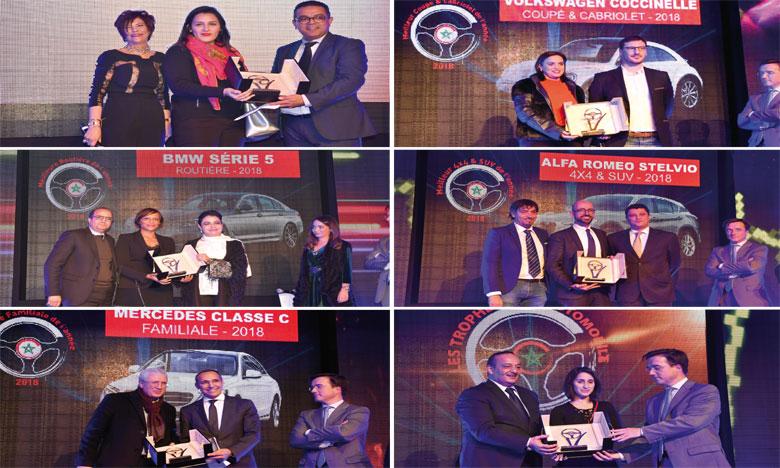 «Une Voiture de l'année» et huit «Meilleurs véhicules par catégories»