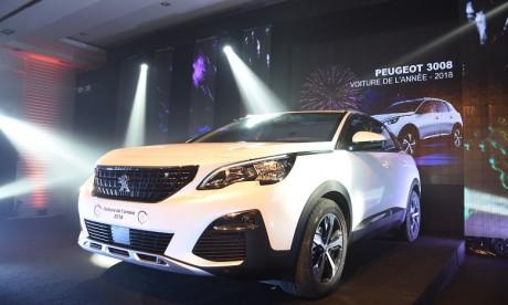 Le Peugeot 3008 élu «Voiture de l'Année 2018 au Maroc»