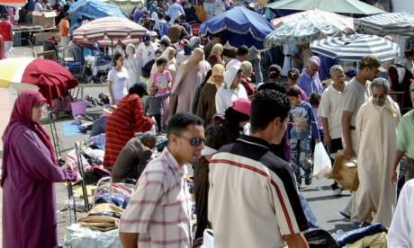 INDH: 3,6 millions de DH pour organiser les marchands ambulants