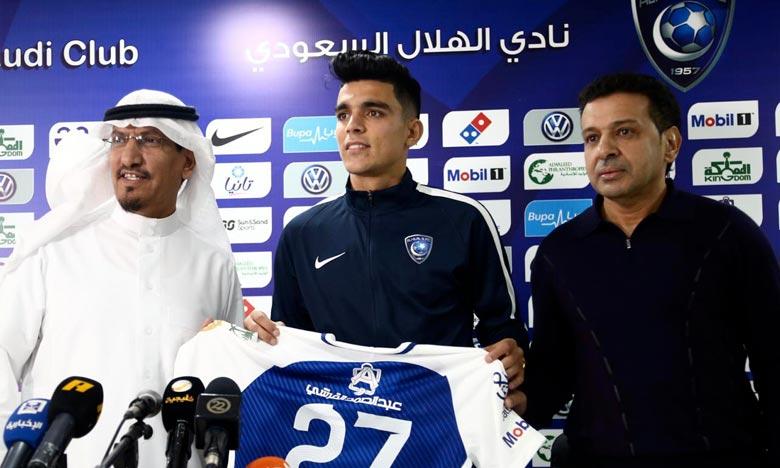 Achraf Bencharki marque son premier but avec Al-Hilal