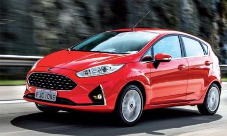 Pour lui donner un aspect premium, la carrosserie de la nouvelle Fiesta est 71mm plus longue et 13mm plus large que la version précédente.
