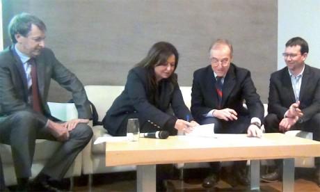 La Coalition marocaine de l'eau signe deux conventions à l'international