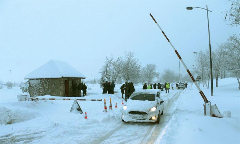 Mobilisation pour le déneigement des axes routiers