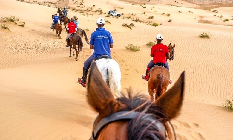 """La première édition des """"Gallops of Morocco"""" du 25 février au 4 mars"""