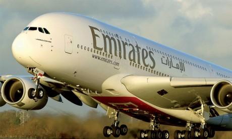 Offre promotionnelle d'Emirates sur ses vols Casablanca-Dubaï