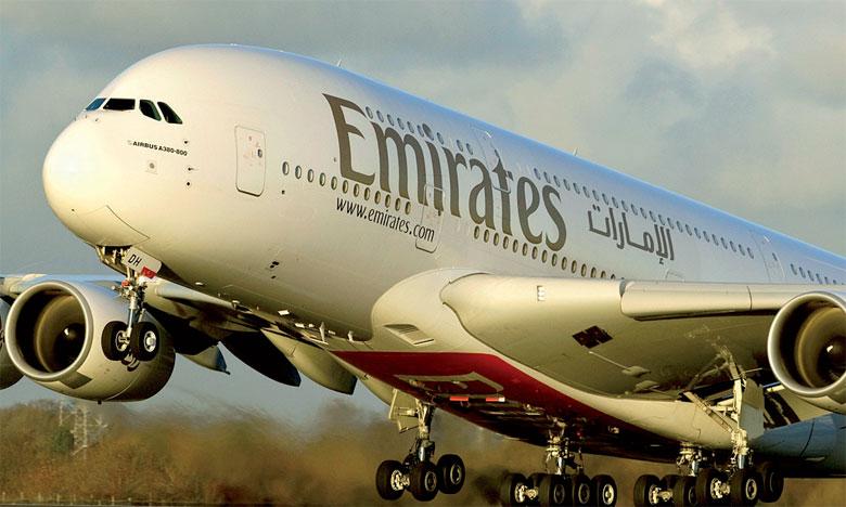 L'offre Emirates comprend également un troisième bagage gratuit allant jusqu'à 23kg.