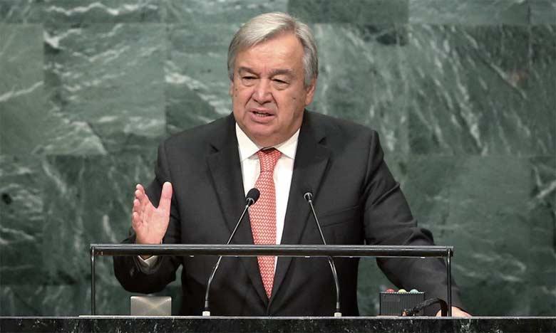 Le secrétaire général des Nations unies, Antonio Guterres.  Ph. DR