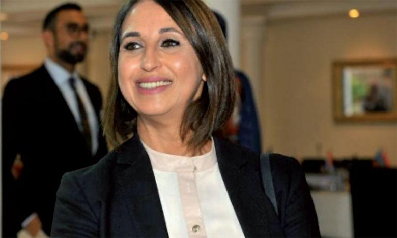 S.M. le Roi félicite Mme Nabila Mounib suite à sa réélection secrétaire générale du PSU