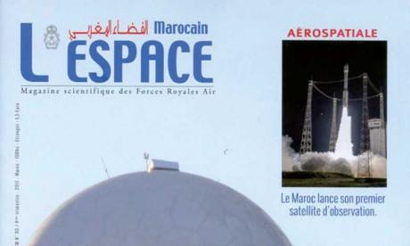 Le 90e numéro de «L'Espace Marocain»,  magazine scientifique des Forces Royales Air
