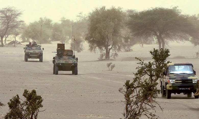 Six soldats tués par une mine dans le centre