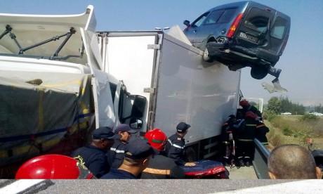 23 morts dans 1.262 accidents de la route en 7 jours