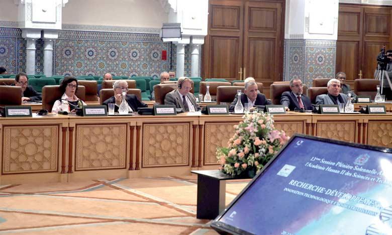 L'Académie Hassan II des sciences et techniques clôt les travaux de sa 13e session plénière solennelle annuelle
