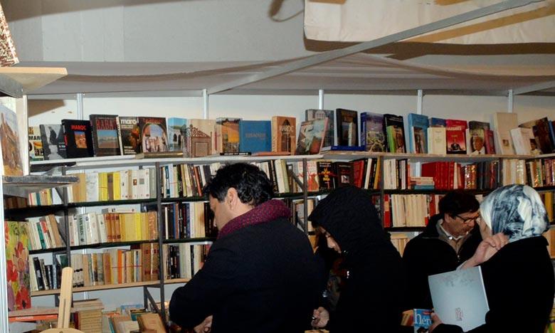 Aucun livre avec la carte Maroc tronquée n'est exposé au Siel 2018