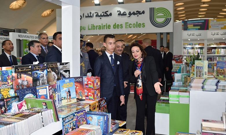 S.A.R. le Prince Héritier Moulay El Hassan préside à Casablanca l'ouverture du 24ème Salon International de l'Edition et du Livre