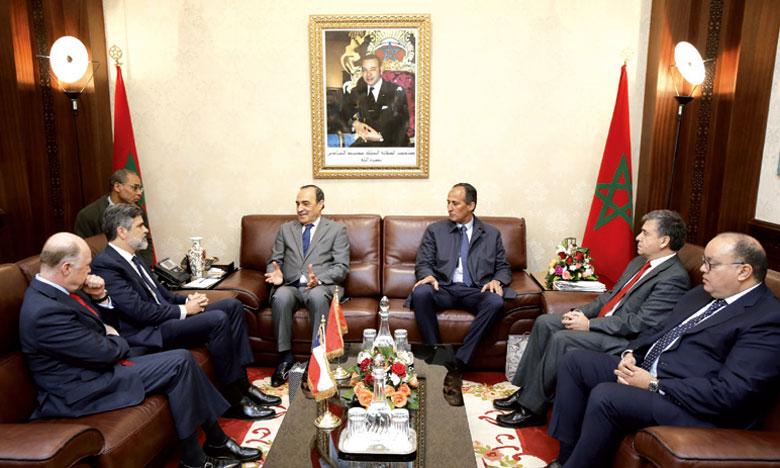 Les investisseurs chiliens intéressés par le secteur agricole marocain