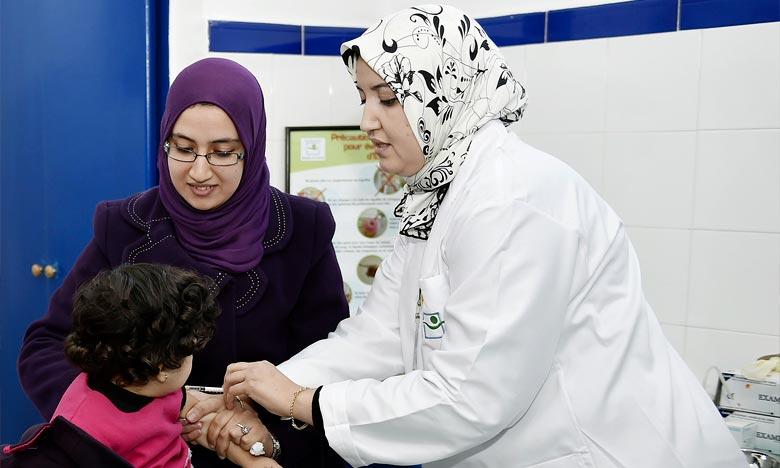 Le taux de couverture vaccinale atteint les 95%