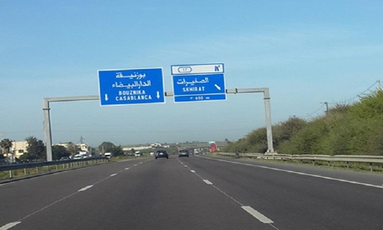 Quatre morts et six blessés dans un accident sur l'autoroute Casablanca-Rabat