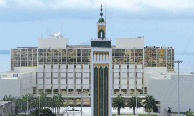 La Mosquée Hassan II de Libreville.