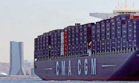 CMA CGM se renforce entre  le Maroc et l'Afrique de l'Ouest