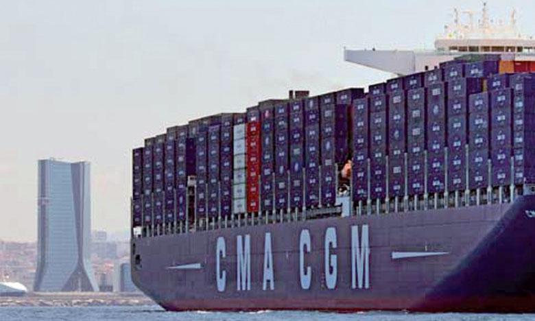 Les ports de Tanger Med et de Casablanca sont au cœur des services CMA CGM reliant  les pays méditerranéens aux marchés stratégiques d'Afrique de l'Ouest.