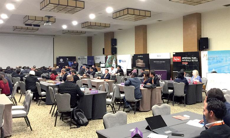 La journée du 27 février a connu des sessions de Networking et des rencontres B2B entre les entreprises marocaines et une trentaine de sociétés portugaises.