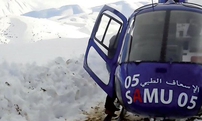 Deux femmes enceintes acheminées par hélicoptère vers Imilchil