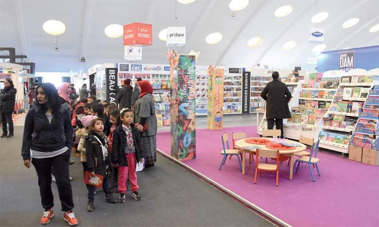 Les éditeurs nationaux des livres pour enfants partagent le marché avec leurs confrères étrangers,  notamment français.     Ph. Saouri