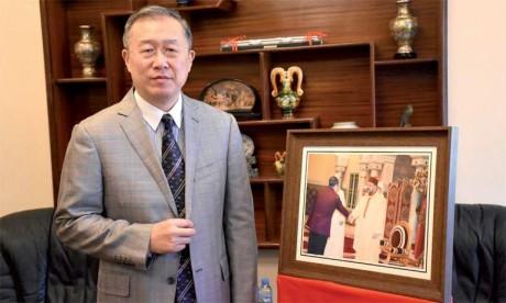 «Les relations sino-marocaines sont entrées dans une nouvelle phase de développement marquée par un resserrement sans précédent des liens politiques bilatéraux»