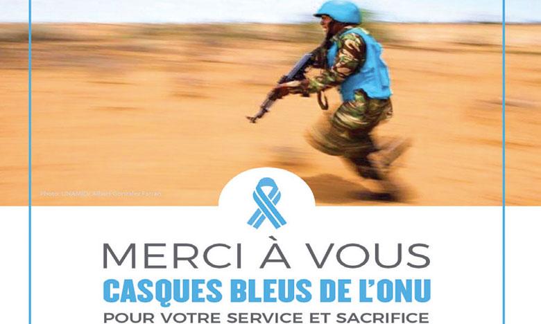 L'ONU lance la campagne «Merci à vous Casques bleus»