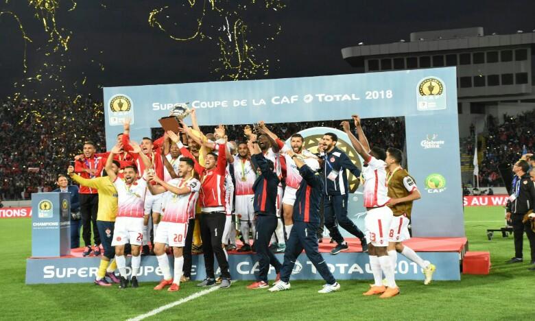 Amin Tighazoui inscrit le but salvateur et offre la super coupe d'Afrique au WAC