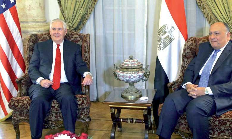 Au Caire, le secrétaire d'État américain entame une tournée au Moyen-Orient