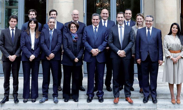 Rencontre à Paris entre le président du RNI et le délégué général de «La République en Marche»